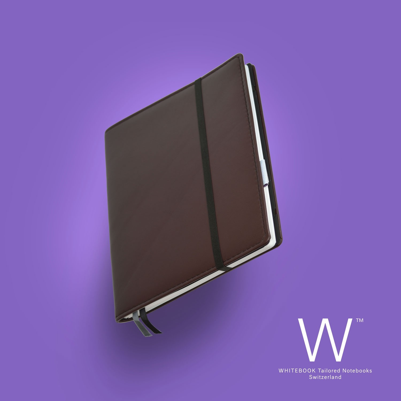 Whitebook Premium, P173w, LV Iris brun