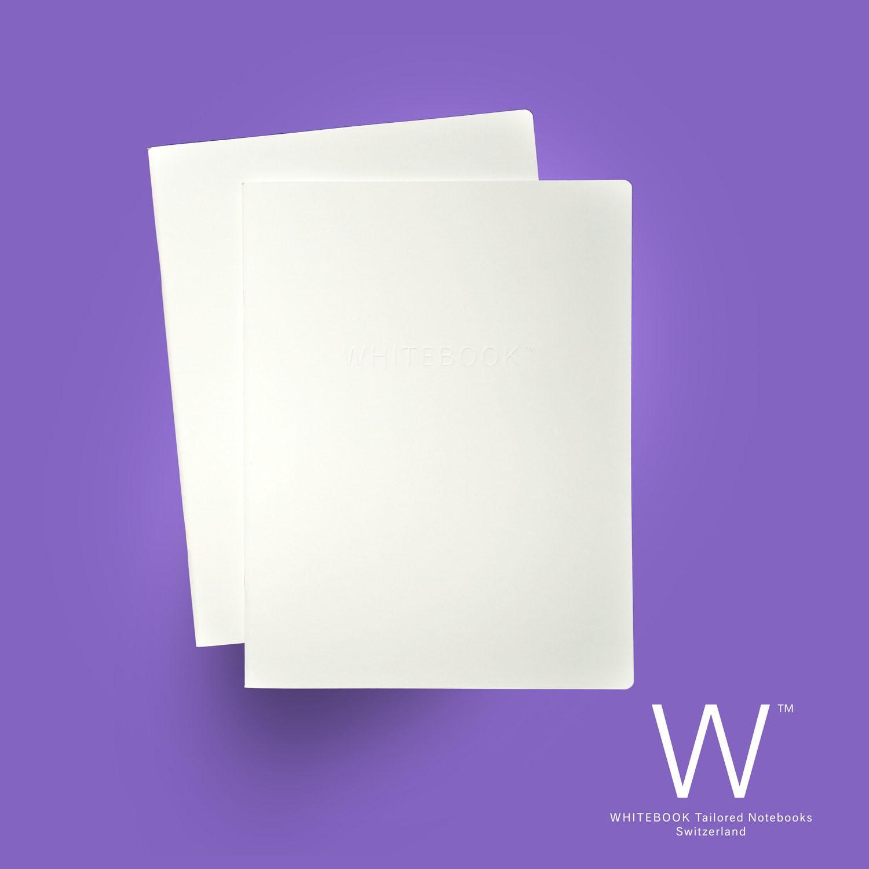 WHITEBOOK CAHIER «Donato», C004, Plain paper journals
