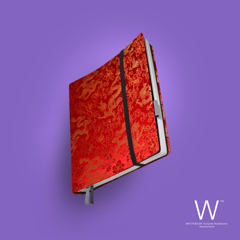 Whitebook Haute Couture, H019, Brokat Silk, Chinese dragons