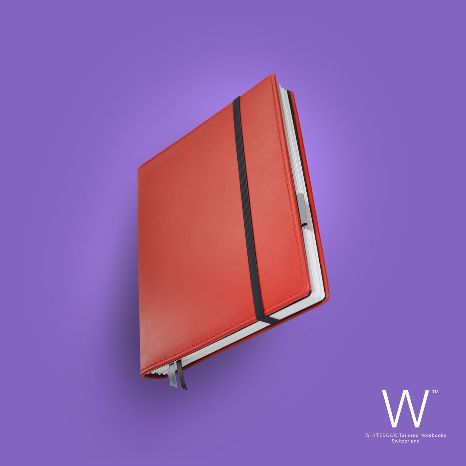 Whitebook Premium, P027w, Red