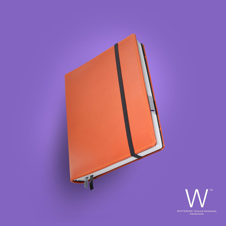 Whitebook Premium, P036w, Orange