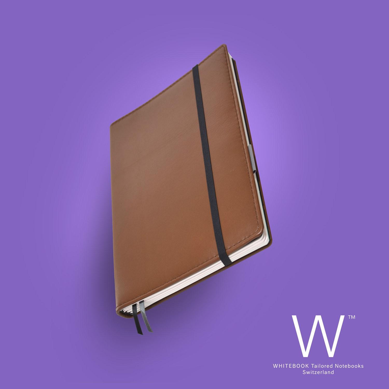 Whitebook Premium, P037w, Light brown