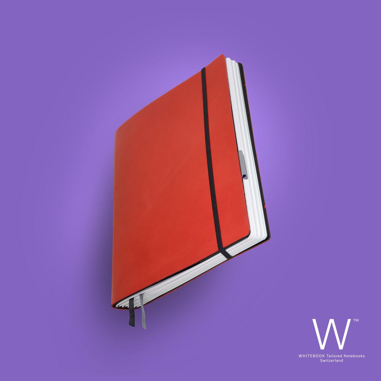 Whitebook Standard, S041, Red