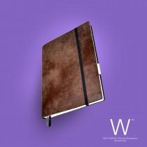 Whitebook Slim, S205, Brown antique