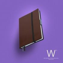 Whitebook Slim, S208, Capuchino