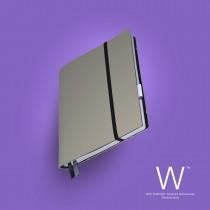 Whitebook Slim, S210, Gris Perle
