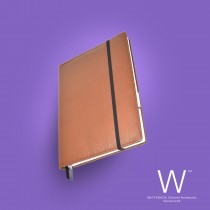 Whitebook Premium, P010w, Deer nappa leather, Light Brown