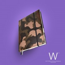 Whitebook Premium, P047w, Camouflage brown
