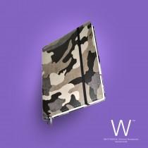 Whitebook Premium, P048w, Camouflage grey