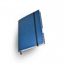 Whitebook Standard, S042-XL, Light Blue, Kroko embossed