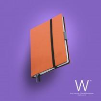 Whitebook Slim, S214, Hermes Orange