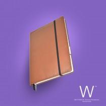 Whitebook Premium, P010w, Deer nappa leather, Light Brown