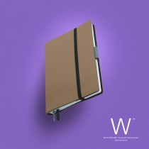 Whitebook Slim, S209, Café au Lait