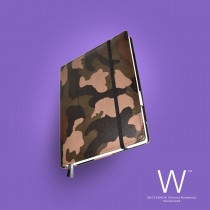 Whitebook Premium, P047w, Camouflage brown