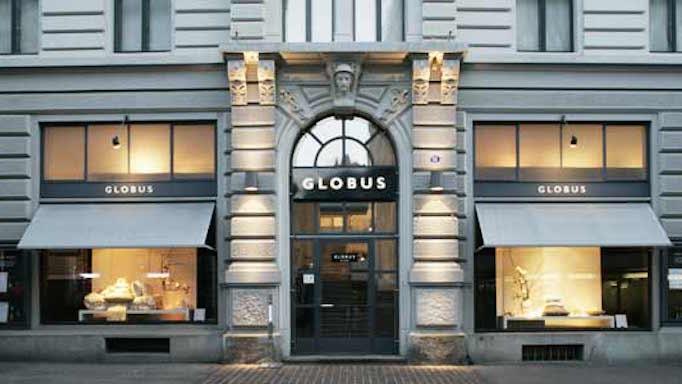 Globus, Lausanne